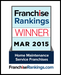Franchise Rankings 2015 Best Home Maintainance Services Provider